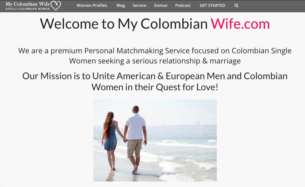 MyColombianWife site