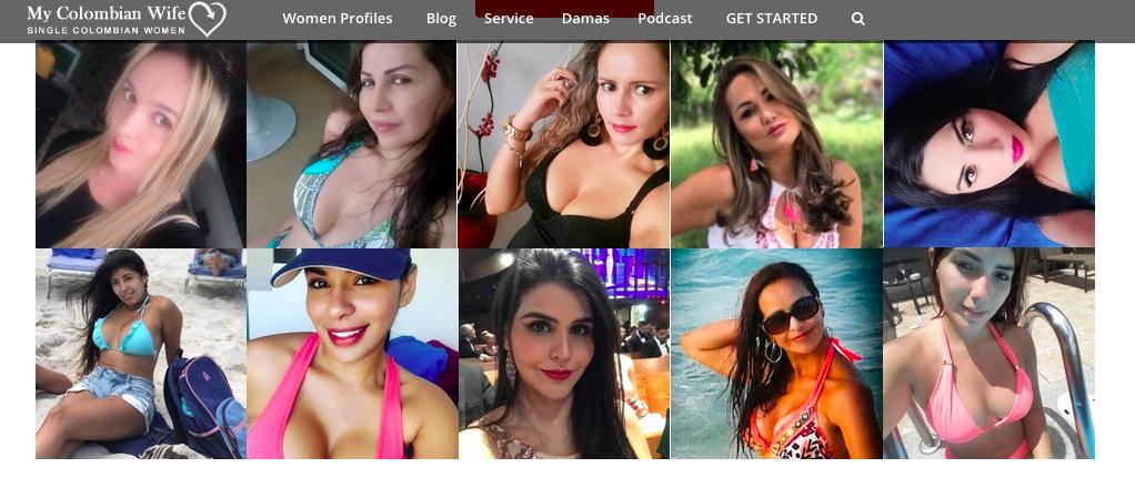 MyColombianWife women profiles