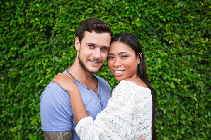 Colombian couple