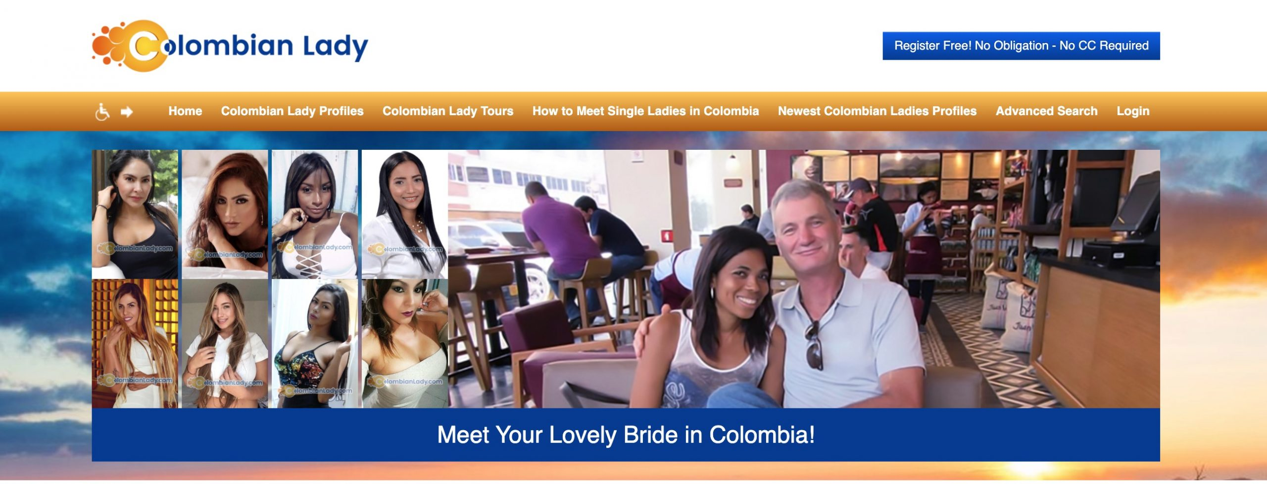 ColombianLady main page